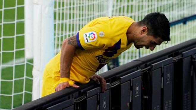 Luis Suarez heading towards his least productive season for Barcelona