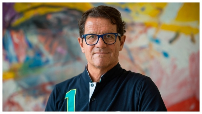 Fabio Capello, do ble campeón de Liga con el Real Madrid.