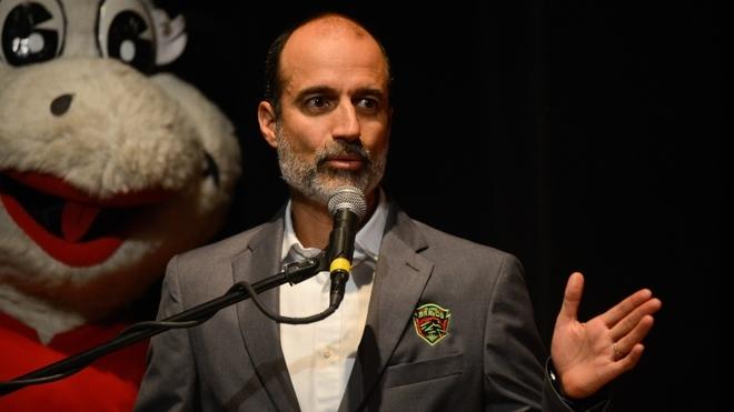 Guillermo Cantú, en una conferencia.