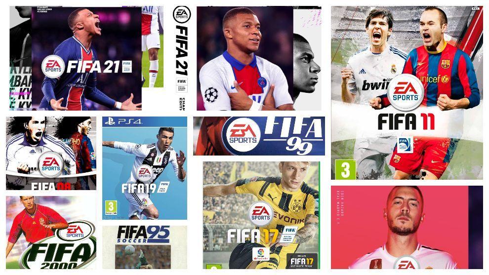 El gafe de ser portada de FIFA