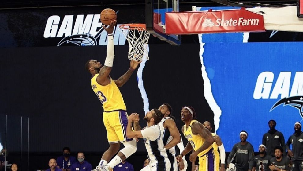 Lakers y LeBron James lograron dramático triunfo contra Clippers — NBA