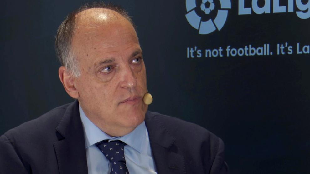 La autocrítica de Javier Tebas por el 'caso Fuenlabrada'