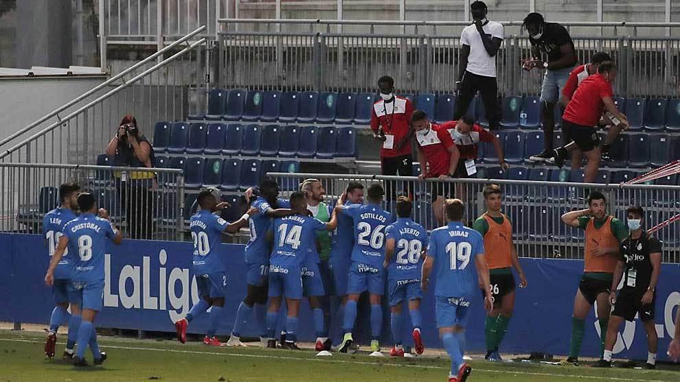 Fuenlabrada squad reject LaLiga decision