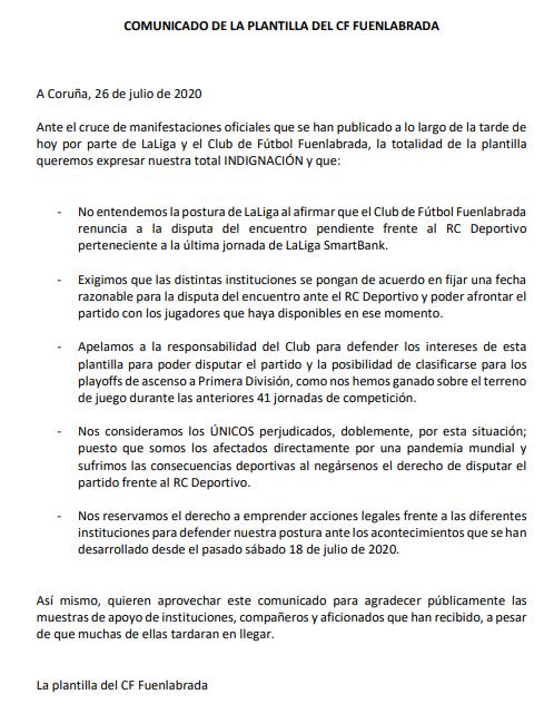 El escándalo del Fuenlabrada deja a Javier Tebas contra las cuerdas 15957851309954