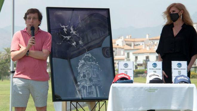 José Luis Martínez Almeida, en el torneo de Motril.
