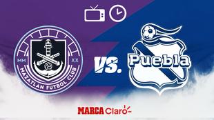 Horario y dónde ver en vivo el Mazatlán FC vs Puebla de la Jornada...