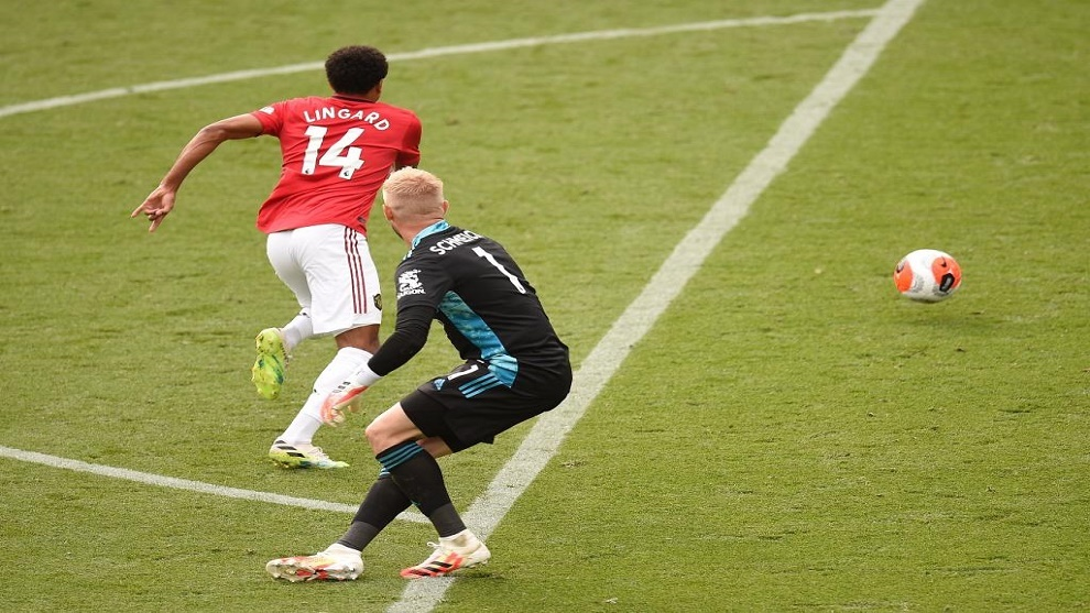 Apostó que Lingard acabaría la Premier con cero goles y cero asistencias... ¡y el del United se la arruinó en el último momento!