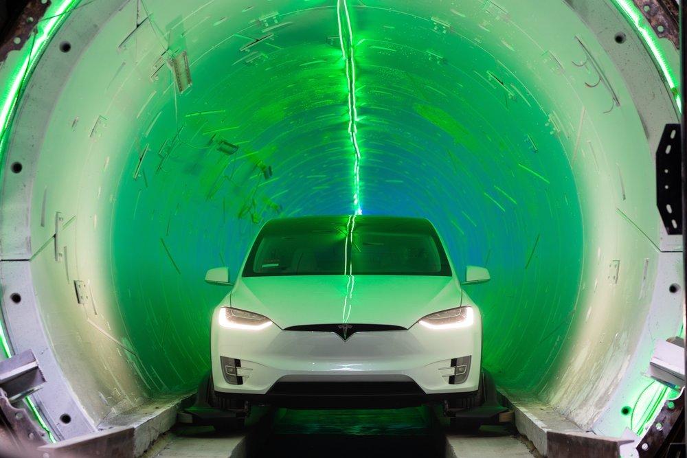 Tesla: Loop: el túnel para coches autónomos de Tesla que eliminará ...