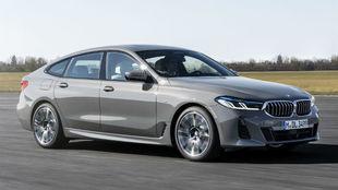 El BMW Serie 6 GT recibe una profunda actualización estética y...