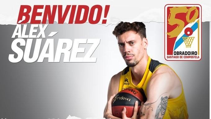 Álex Suárez ficha por el Obradoiro, su sexto equipo en la Liga Endesa