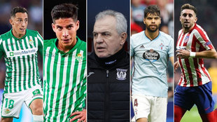 Andrés Guardado, Diego Lainez, Javier Aguirre, Néstor Araujo y...