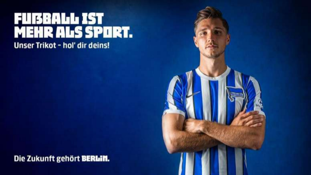Nueva equipación Hertha Berlín