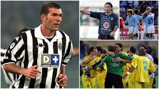 Zinedine Zidane, la Spider-Atlético y el Villarreal y el Celta...
