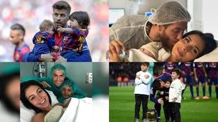 Alana, Grecia, Sasha... el curioso gusto de los futbolistas en los nombres de sus hijos