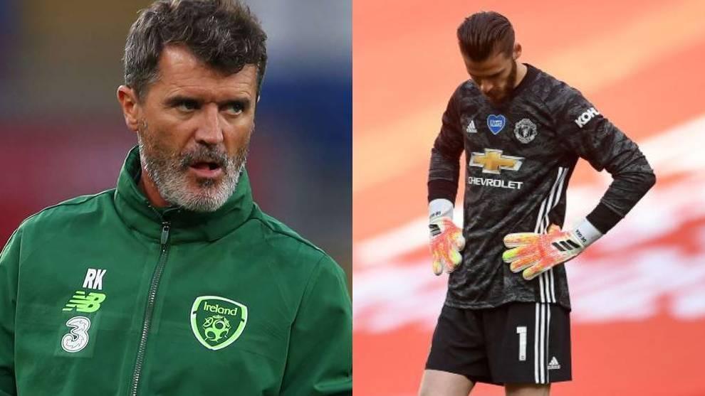 Roy Keane y David De Gea
