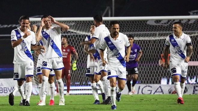 Puebla golea al Mazatlán FC en calidad de visitante.