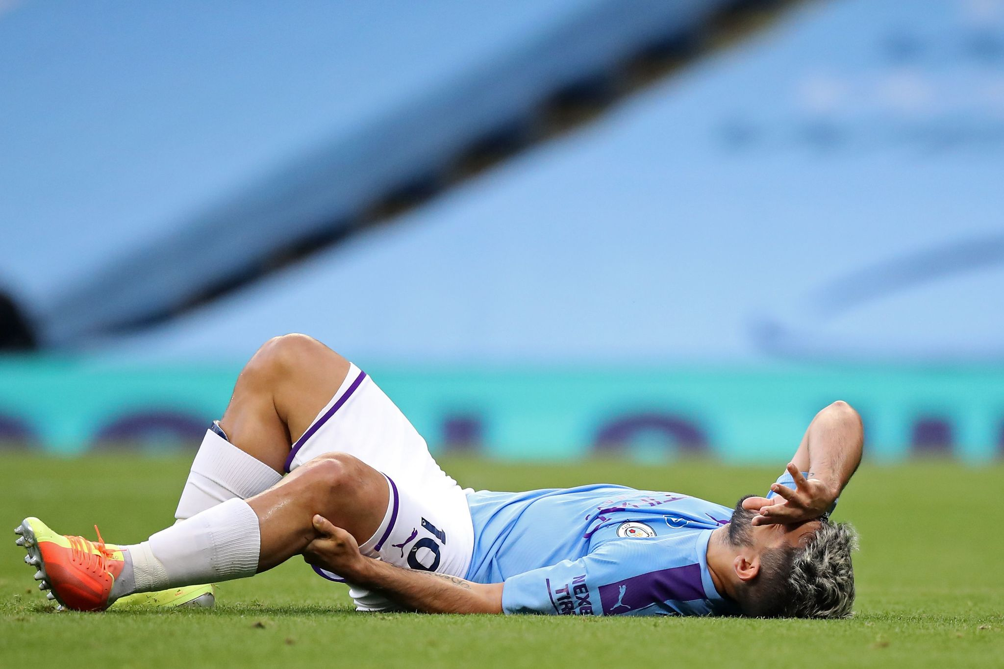 Aguero ruled out of Real Madrid match