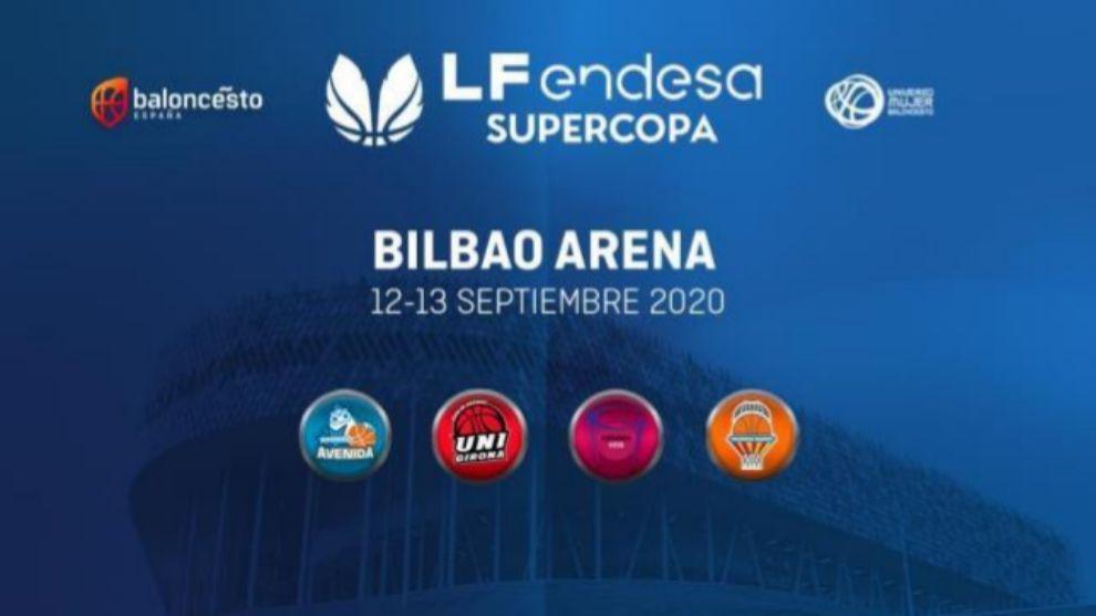 La Supercopa femenina, el 12 y 13 de septiembre en el Bilbao Arena