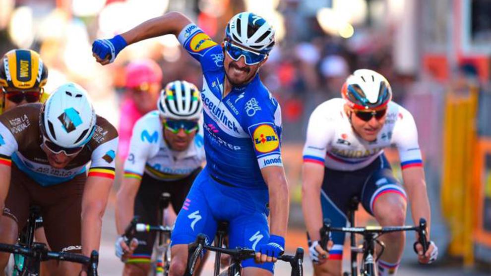 Julian Alaphilippe se impone al sprint en la edición 2019