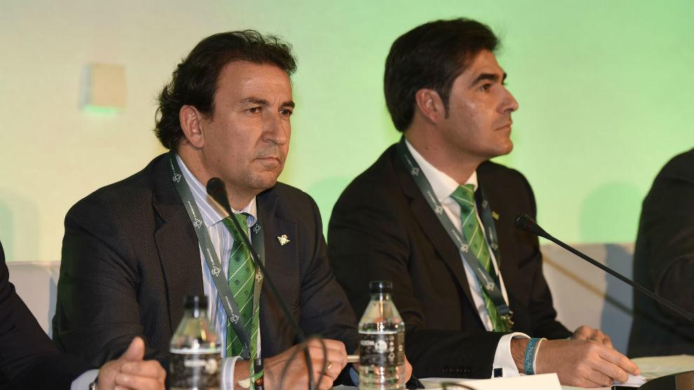 Betis: Haro y Cataln dejarn de ser consejeros delegados del Betis
