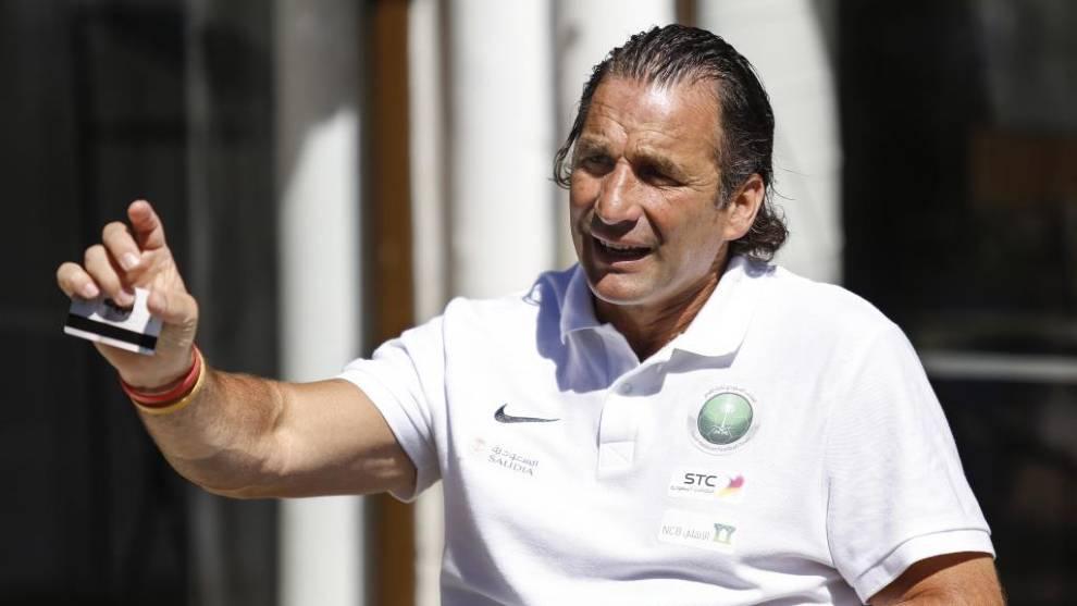 Juan Antonio Pizzi, durante una entrevista con MARCA en 2018