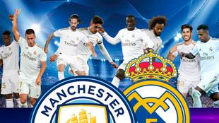 El Real Madrid, con dudas en su once ante el Manchester City.