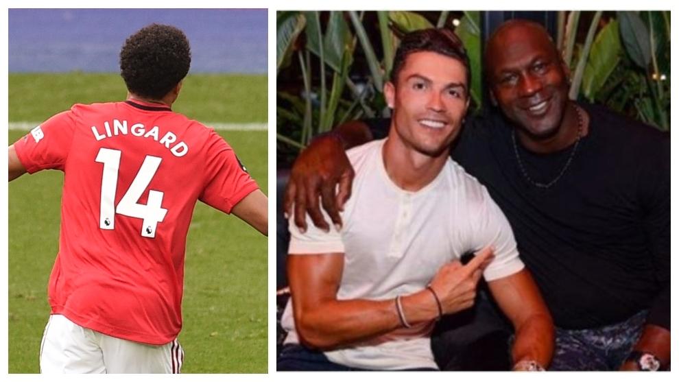 "Lingard: ""Cristiano Ronaldo es el Michael Jordan del fútbol"""
