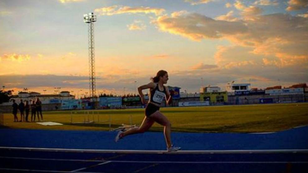 La atleta Claudia Hernández Rey, en una foto de su perfil de...