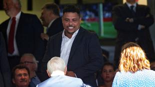 Ronaldo durante un partido.