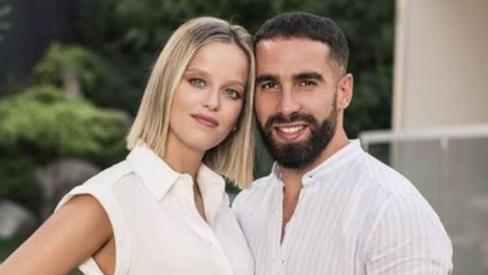 Carvajal se une al 'boom' de padres del Real Madrid y anuncia que tendrá su primer hijo