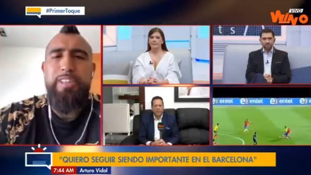 """Arturo Vidal: """"Cuando al Barça se le va un título, se quiere cambiar de entrenador, de jugadores..."""""""
