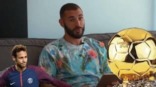 Las confesiones de Benzema: el defensa más difícil, el mejor regateador, el Balón de Oro...