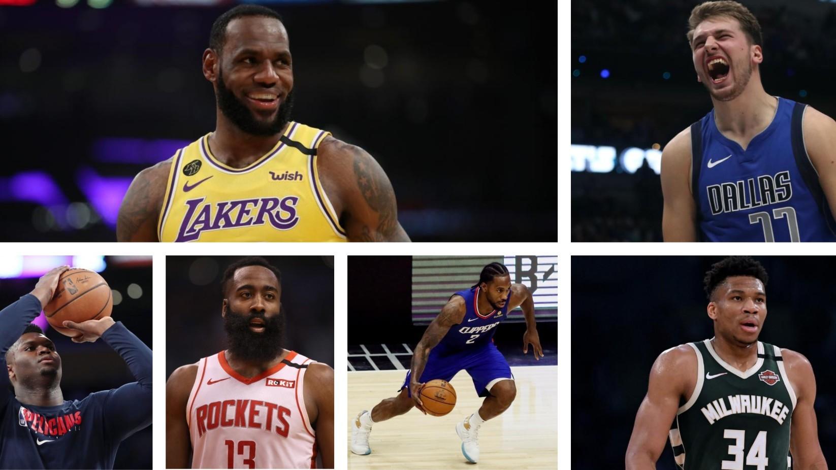 Lo que se juegan las estrellas de la NBA en la reanudación de la temporada