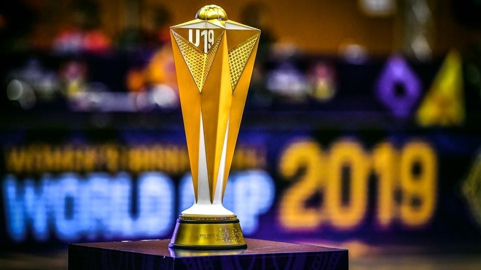 El trofeo del Mundial Femenino U19.