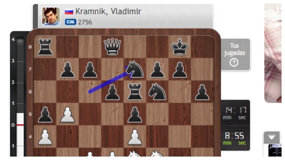 Carlsen-Kramnik, así fue la 9ª jornada del Chess24.com Leyendas del Ajedrez
