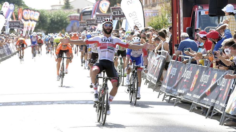 Fernando Gaviria disfruta de su victoria