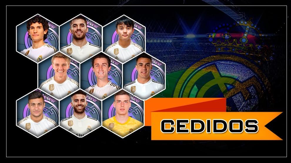 ¿Qué hacer con los 10 cedidos que vuelven al Real Madrid?