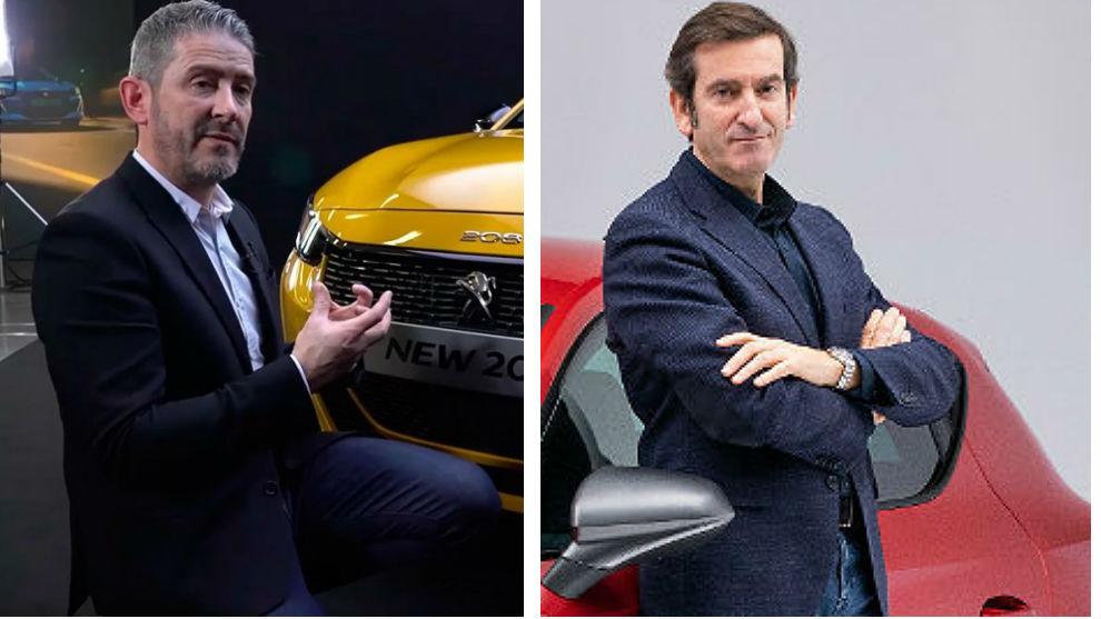 Gilles Vidal (i) y Alejandro Mesonero-Romanos.