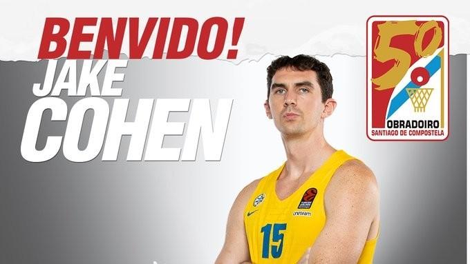 Jake Cohen, experiencia Euroliga para el Obradoiro