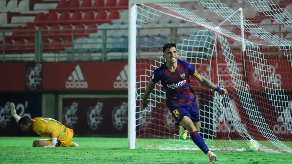 lt;HIT gt;Monchu lt;/HIT gt; celebra el pase del Barça B