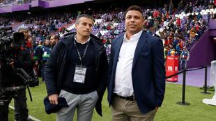 Miguel Ángel Gómez y Ronaldo.