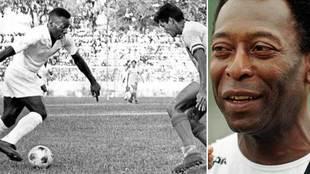 Nadie podrá decirte que no viste jugar a Pelé: el vídeo definitivo de su show de caños y sombreros