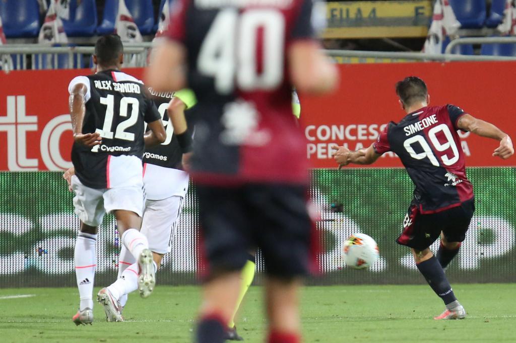 Simeone amargó a la Juventus en el estreno del scudetto
