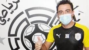 Xavi Hernández, recuperado del coronavirus.