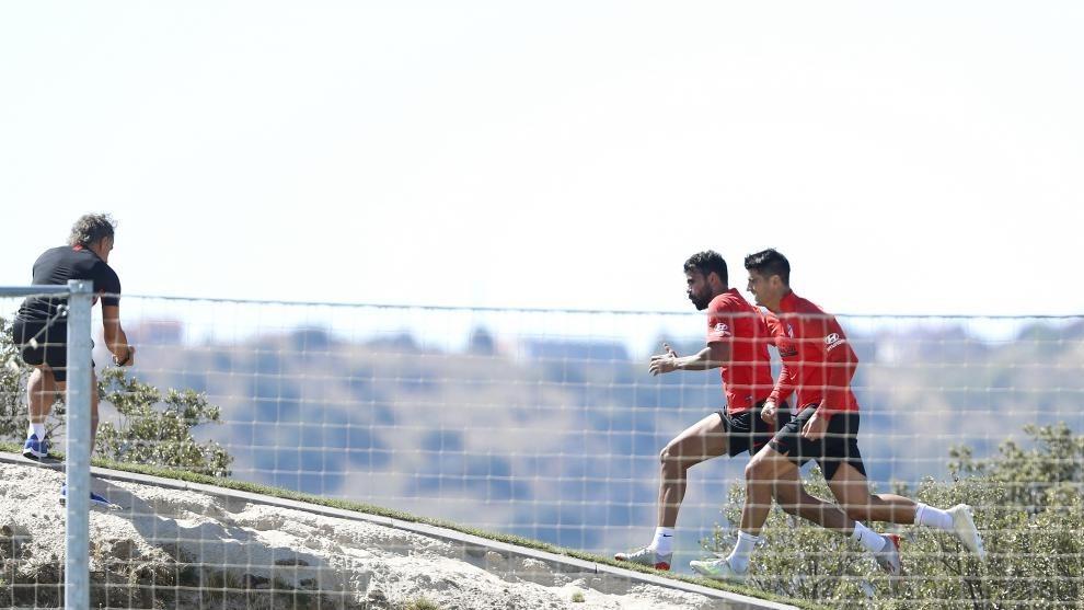 Morata and Costa.