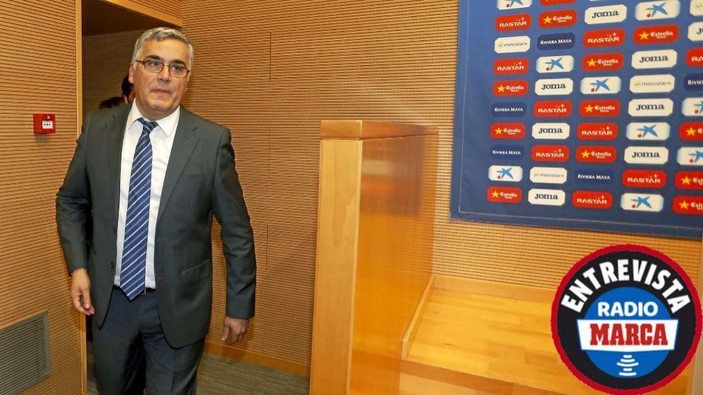 """Joan Collet: """"Lo justo sería que no hubiera descensos ni en Primera ni en Segunda"""""""