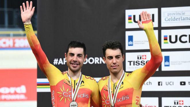 Sebastián Mora y Albert Torres.