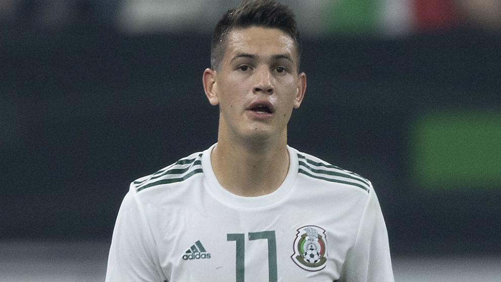 César Montes (23), central del Monterrey.