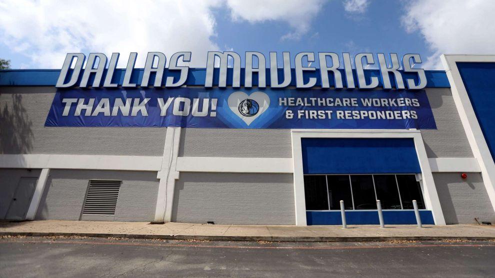 Exteriores de las instalaciones de los Dallas Mavericks