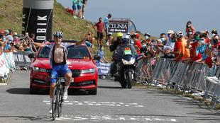 LaVuelta inspecciona en Burgos el final de la tercera etapa en Picón...
